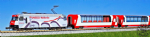Kato 10-1219  Alpine Glacier Express UNESCO 7 Car Set